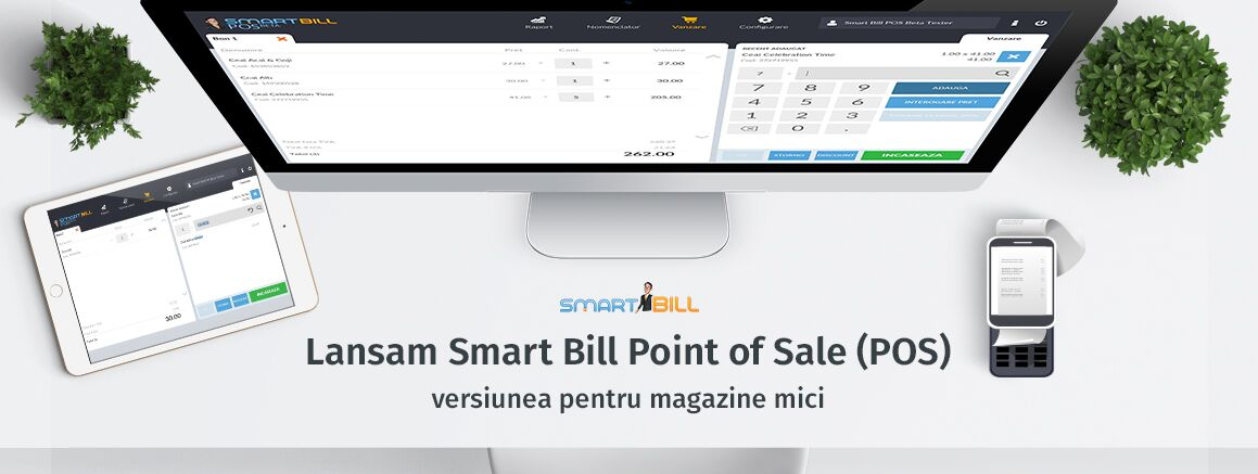 SmartBill invata POS