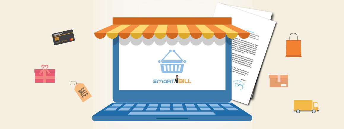 SmartBill invata magazin online