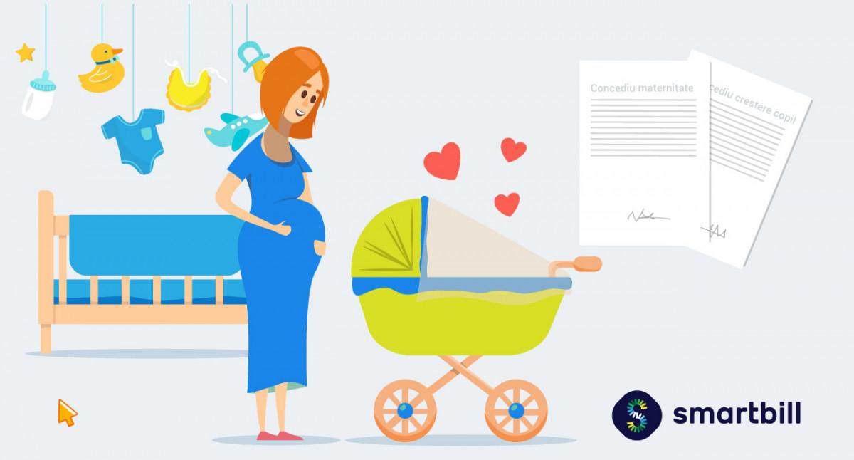 concediul de maternitate