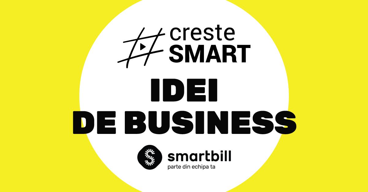 SmartBill invata crestesmart idei de business