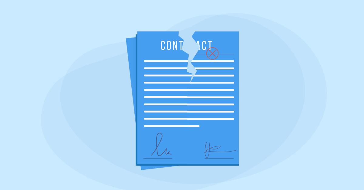 incetare contract munca