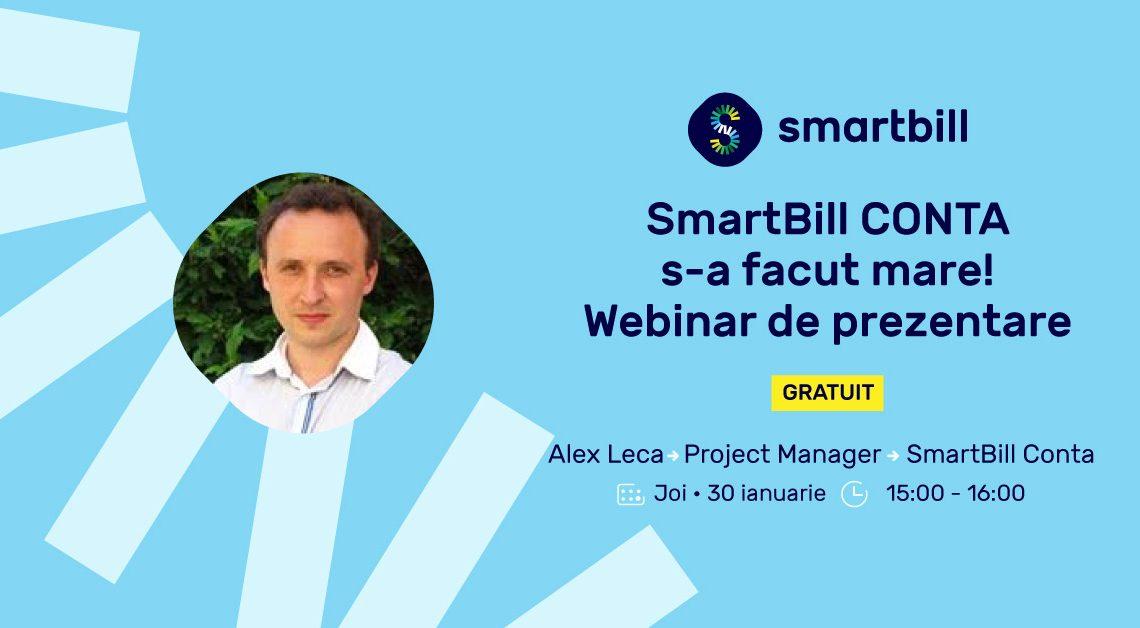 Webinar SmartBill Conta