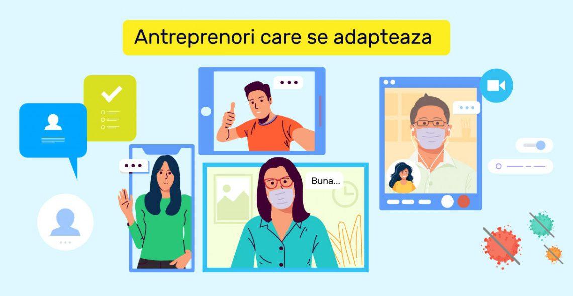 Antreprenori care se adapteaza