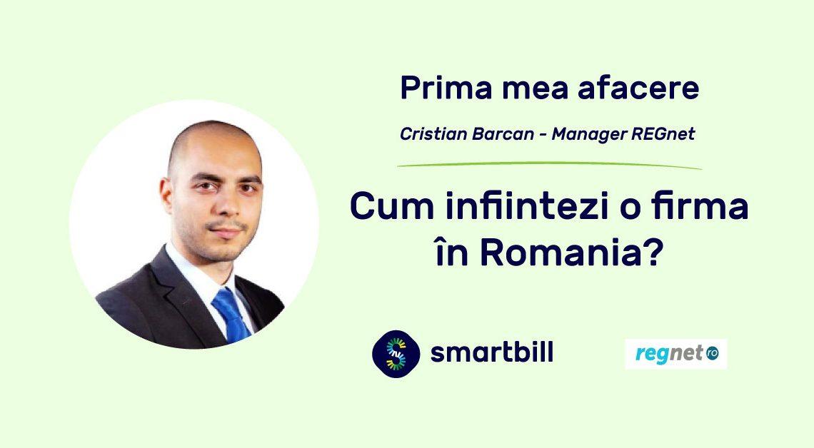 Prima mea afacere - Cristian Barcan